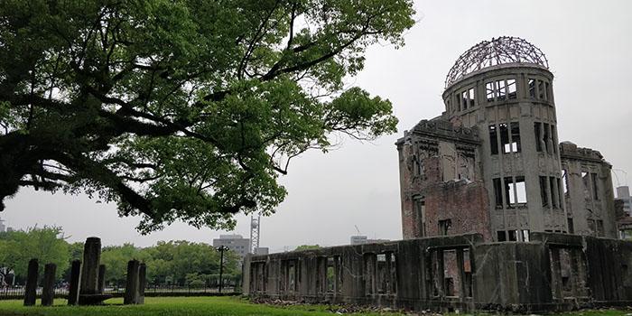 A- Bomb dome ad Hiroshima