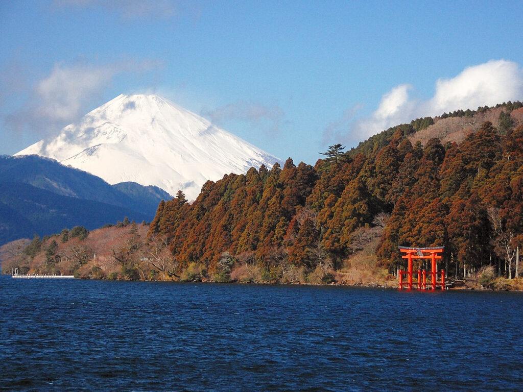 Lago Ashinoko, Hakone