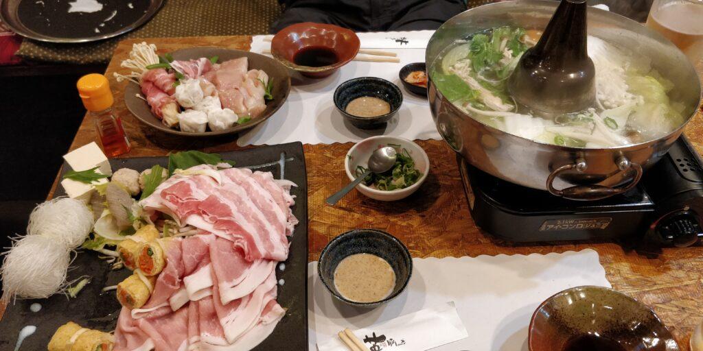 Cibi e bevande tipiche del Giappone: shabu shabu