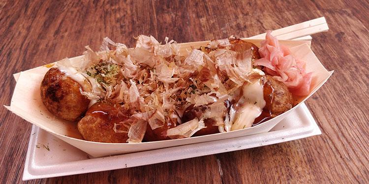 Cibi e bevande tipiche del Giappone: takoyaki